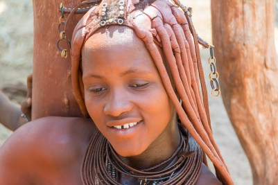 Himba, ethnic, portrait, woman, Namibia