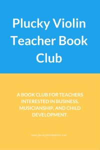 A bookclub for teachers interested in business, musicianship, and child development.