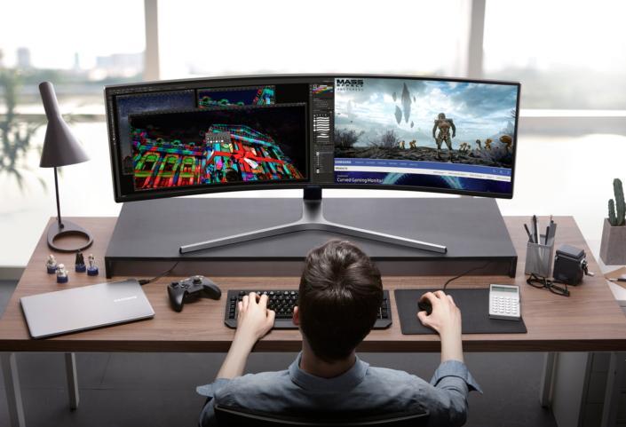 Samsung presenta dos monitores gaming QLED con tecnología HDR