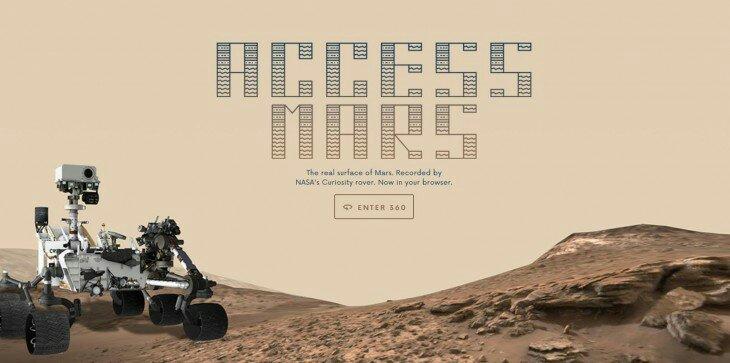 Google ayuda a la NASA mostrando a Marte en nuestro navegador