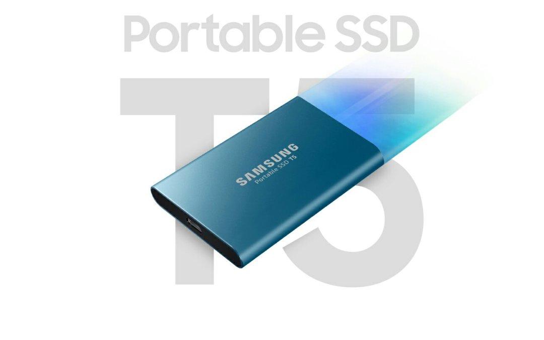 Samsung nos presenta su nueva unidad de almacenamiento externo, la SSD T5