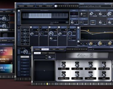 Cakewalk Rapture Pro - Synth