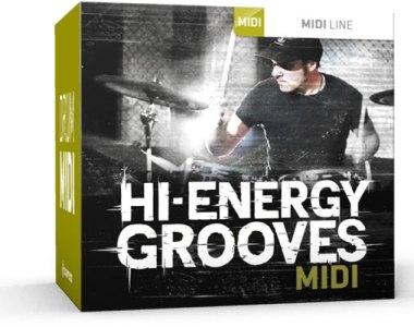 Toontrack Hi-Energy Grooves MIDI - Expansion Packs