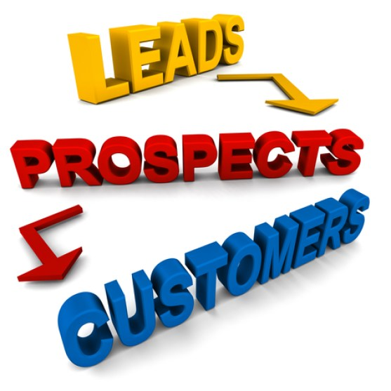 make leads into customers