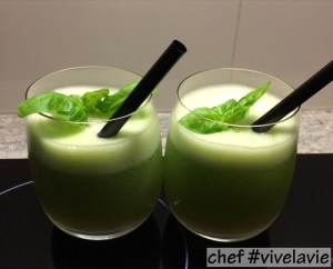 Galia meloen cocktail