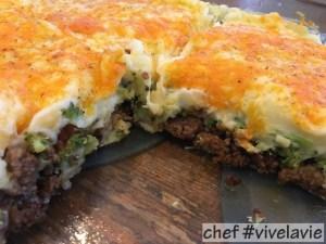 Broccoli-gehakt-ovenschotel