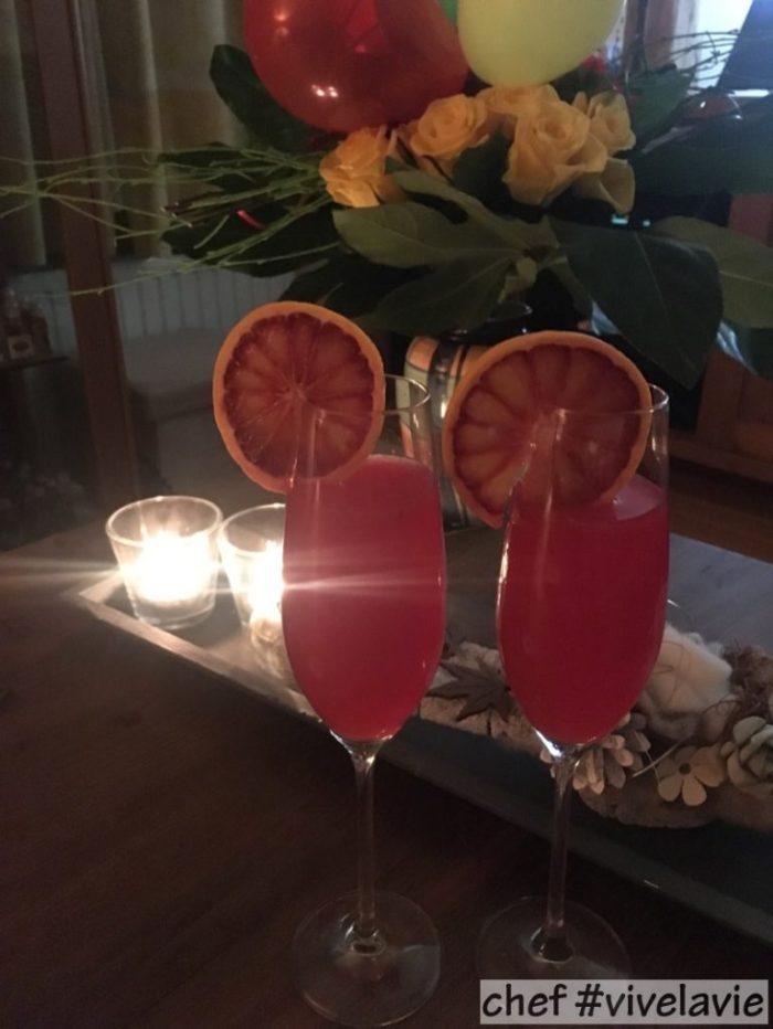 Bloedsinaasappel cocktail