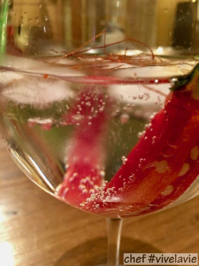 Pittige gin-tonic