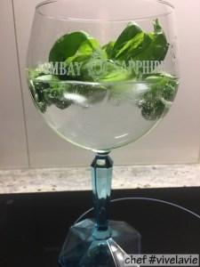 Basil bash gin~tonic