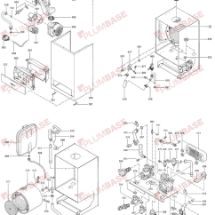 Central Heating Mid Position Valve Wiring Diagram Light Switch Power At Viessmann Vitodens 100 Wb1b 30kw Exploded Views And Parts List