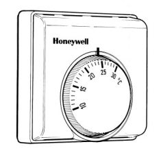 Honeywell Whitbread 1.5kw Wired Programmable Thermostat