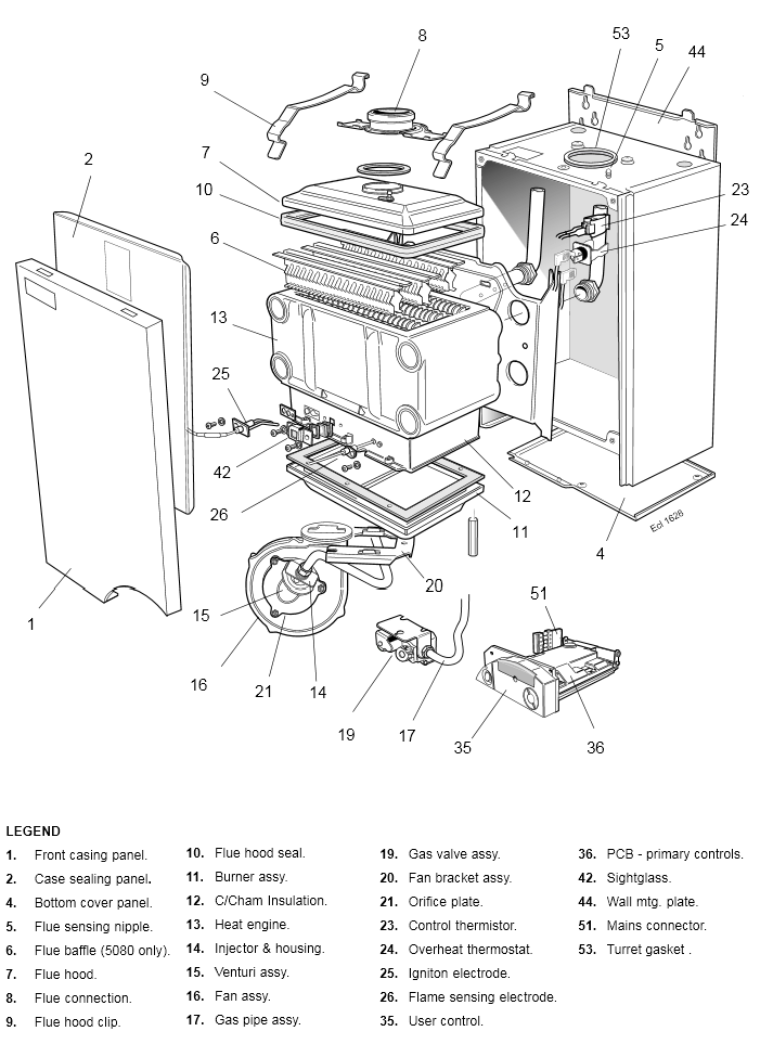 Boiler Manuals: Ideal Classic M5080 Products