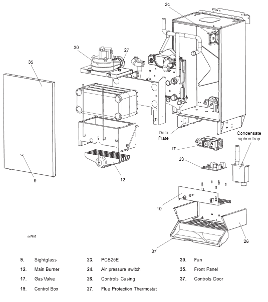 Boiler Manuals: Ideal Classic HE18 Products