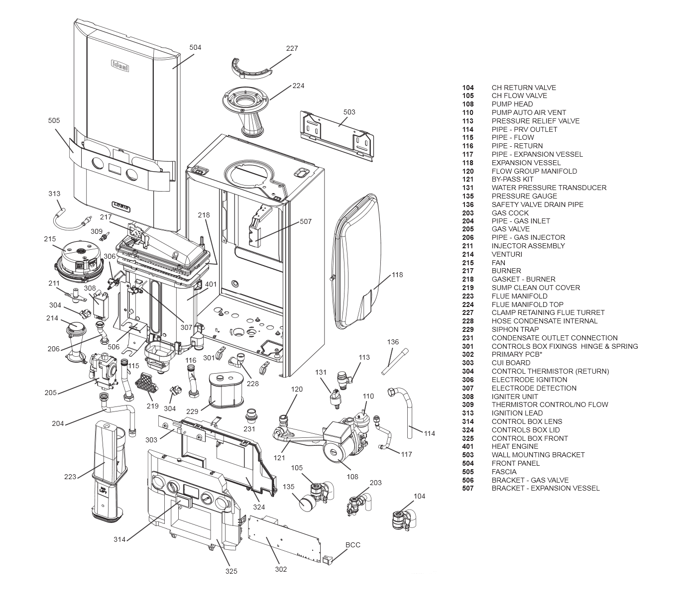 Boiler Manuals Ideal Logic System 30