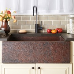 Farm Sinks For Kitchens High Kitchen Table A Great History On Apron Front - Plumbed Elegance ...