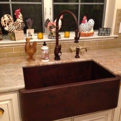 Country Kitchen Sinks Aid Wall Oven French With Copper Farm Sink Plumbed Elegance Recycled And Made In Usa Faucet