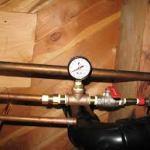 pressure meter 150x150 Low Water Pressure