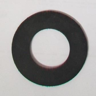 Bath Tap Overflow Flat Rubber Washer 3 4 PACK OF 5