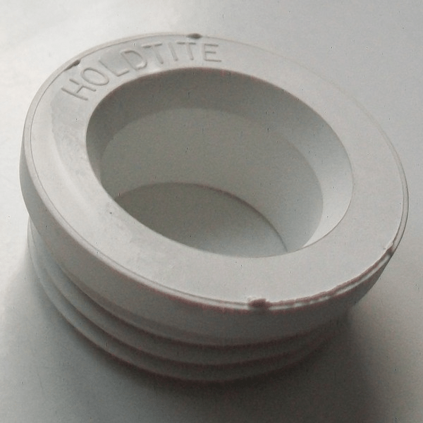 Internal White Rubber Flush Pipe Cone  08000681