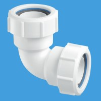McAlpine 1.1 2 Compression 90 Waste Pipe Elbow MT4 ...
