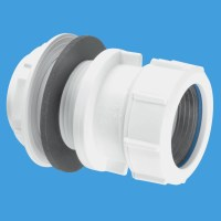 McAlpine 1.1 2 Compression Waste Pipe Tank Connector T11M