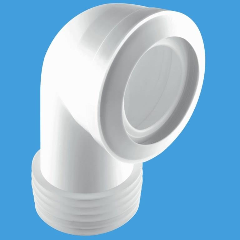 McAlpine MACFIT Short Bent Toilet Pan Connector MAC8