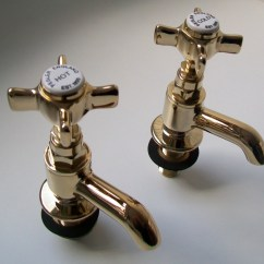 Kitchen Cart With Stainless Steel Top Kitchens Ideas Pegler Sequel Antique Gold Crosstop Basin Taps - 58081030 ...
