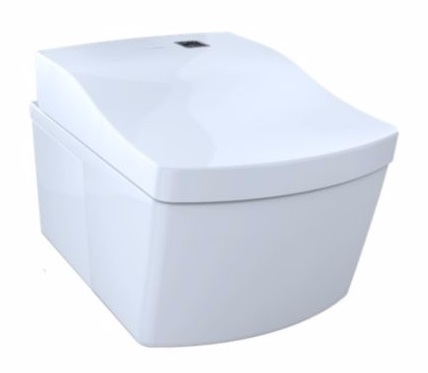 new toto neorest wall hung toilet angled product view