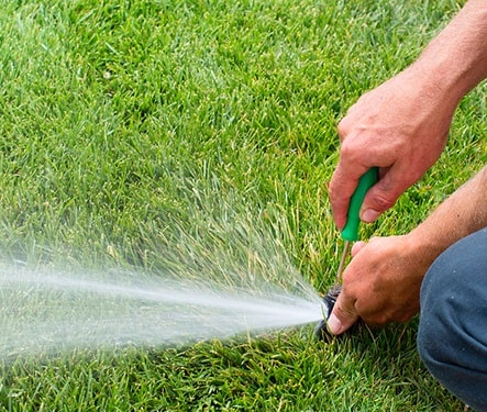 follow the sprinkler checklist for proper maintenance