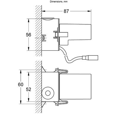 GROHE Plug Power Supply Unit 110-240 V for GROHE Digital