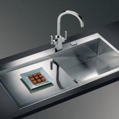 Double Kitchen Sink With Drainboard Corner Bench Seating Plumbing Parts Plus Sinks & Bathroom ...