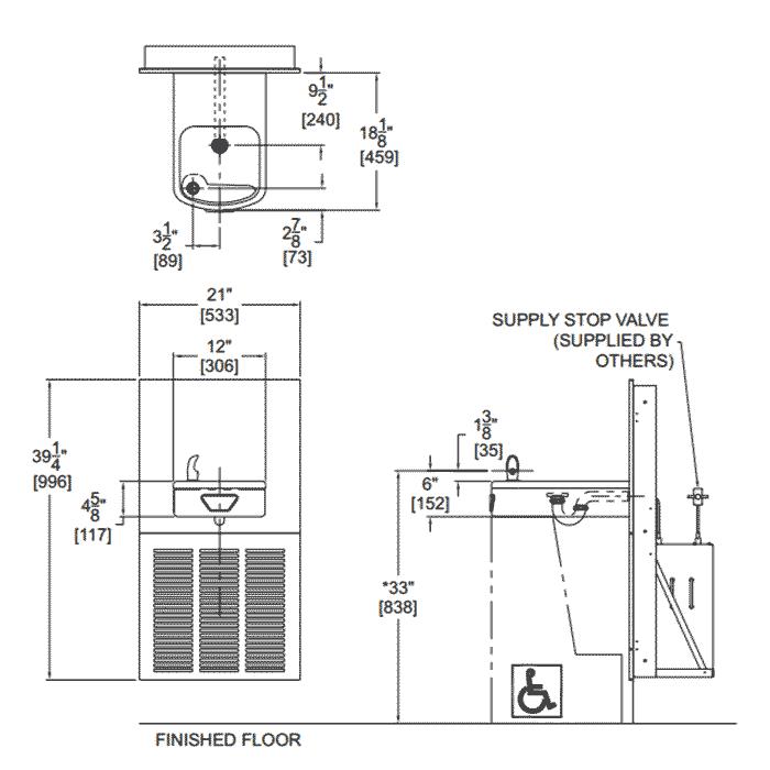ADA Compliant, Barrier Free Water Coolers by Acorn Aqua