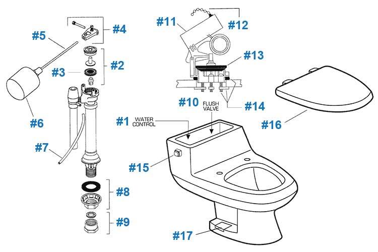 Toilet Repair: Toilet Repair American Standard Parts