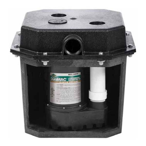 pre assembled sink drain sump pump systems