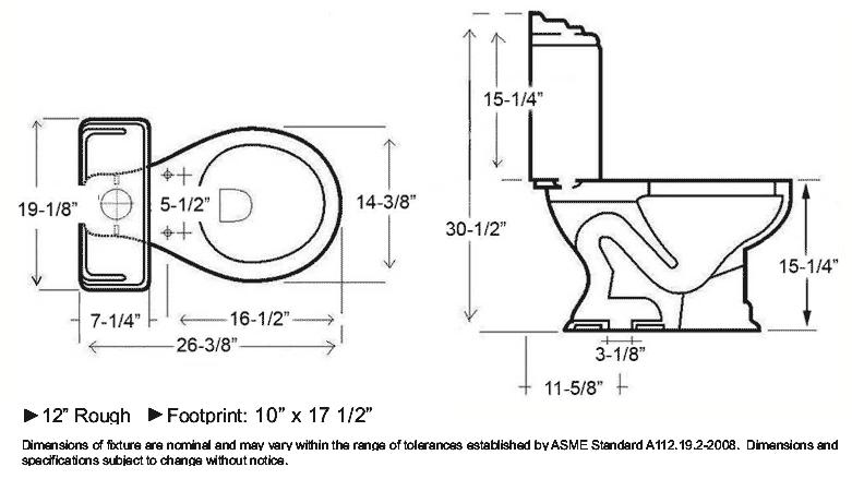 toilet rough in dimensions. toilet dimensions in inches standard but 10 Rough In Toilet  Cadet 3 Elongated Toto