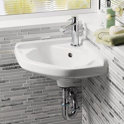 barclay corner wall hung basins
