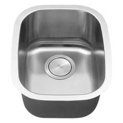 Undermount Single Bowl Kitchen Sink Towel Bar Stainless Steel Sinks By C Tech Li 700