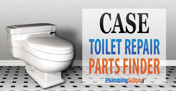 Easy to read toilet identification for Case  Older Briggs