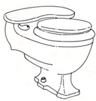 Hard To Find Repair Parts Case Kidney Toilets