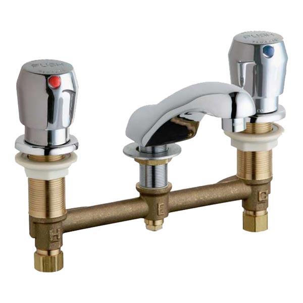 8 widespread metered faucet