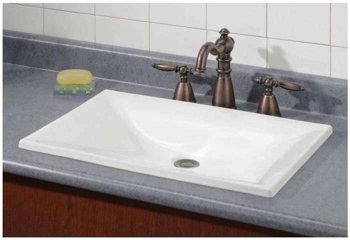 cheviot drop in bathroom sinks