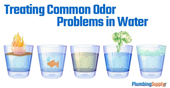 Treating Common Odor Problems In Your Water