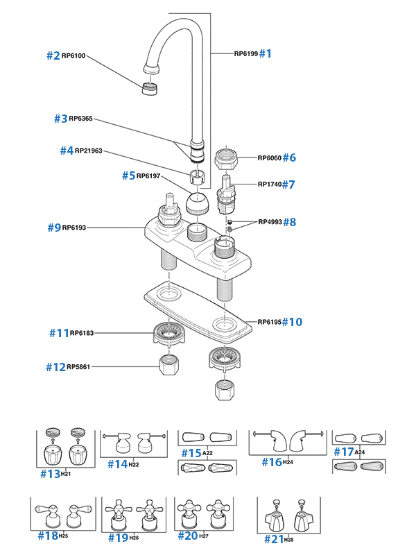 Delta Bathroom Faucet Replacement Parts Reviewmotors Co