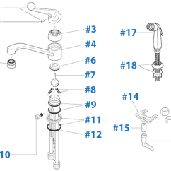 Delta Kitchen Faucets Repair Modern Backsplash Parts For Faucet Diagram Models 101 And 175