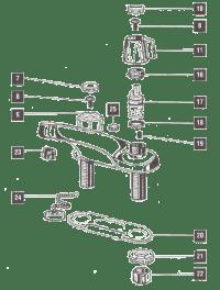 Delta Lavatory Faucet Parts