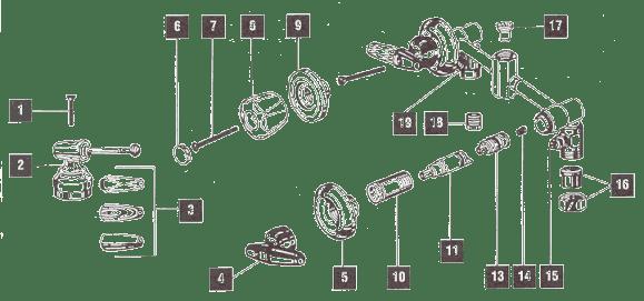 delta shower faucet assembly diagrams