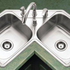 Corner Kitchen Sink Soap Dispenser Bottle Sinks Enex Drop In Legend Series Lcr 3221
