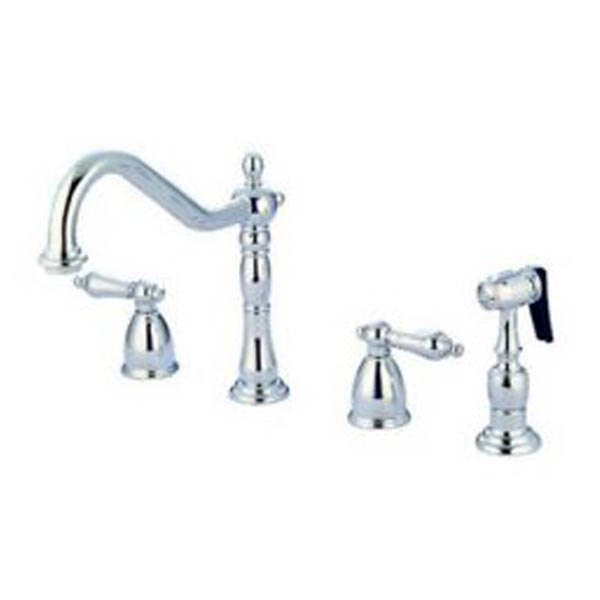 two handle kitchen faucet buy table faucets chrome widespread metal lever handles