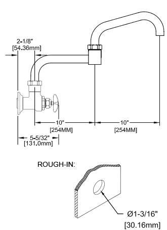 commercial grade pot filler faucets