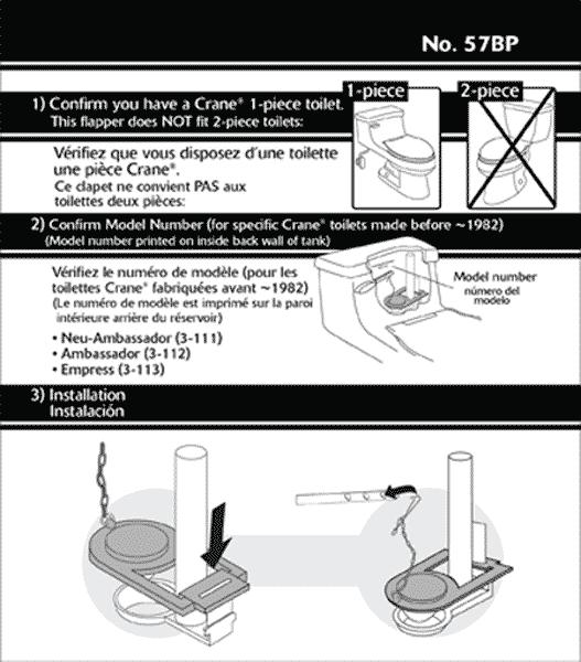 Crane Toilet Repair Parts